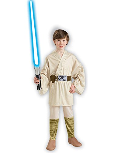 Star Wars Classic Luke Skywalker Child Costume Size: Medium (US sizes 8-10, For 5-7 -