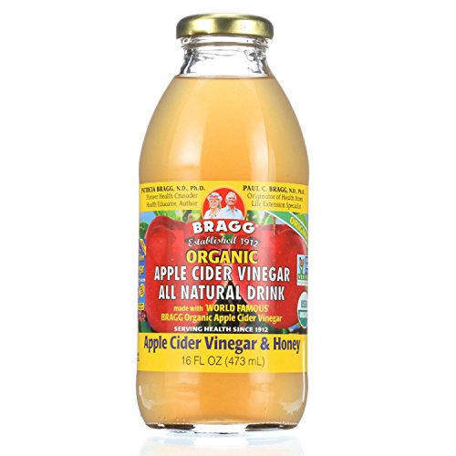 Bragg Apple Cider Vinegar Drink - Organic - ACV and Honey - 16 oz - case of 12 by BRAGG