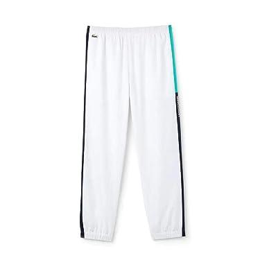 ae2fd334d6 Amazon.com: Lacoste Men's Sport Tennis Colorblock Band Sweatpants ...