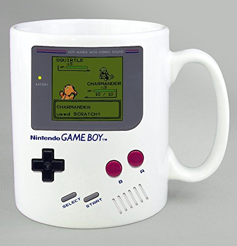taza de game boy pokemon