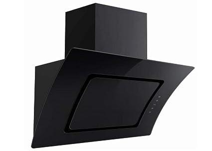 Dunstabzugshaube pkm s abtz cm schwarz glas kopffreihaube