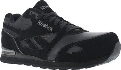 Reebok Work Women's Prelaris RB974 Composite Toe EH Retro Jogger,Black,US  11.5 M