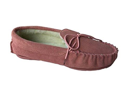 KURU , Damen Hausschuhe rosa Pink Fur 35.5