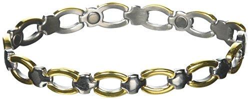 (Sabona Ladies' Classic Casual Magnetic Bracelet, L/XL, 1)