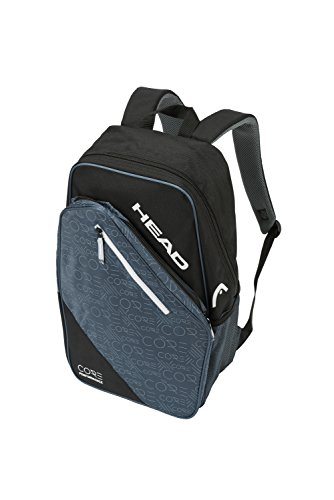 HEAD Core Tennis Backpack - 2 Racquet Carrying Bag w/ Padded Shoulder Straps ()