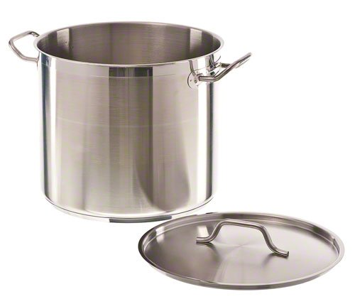 Update International (SPS-20) 20 Qt Stainless Steel Stock Pot w/Cover