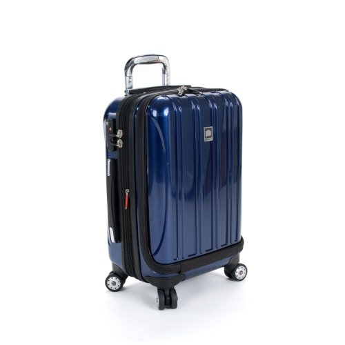 Delsey Helium Aero International Carry-On Expandable Spinner Trolley (One Size, Midnight (Delsey Pro Trolley)