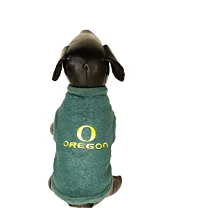 All Star Dogs NCAA Oregon Ducks Polar Fleece Dog Sweatshirt, X-Large