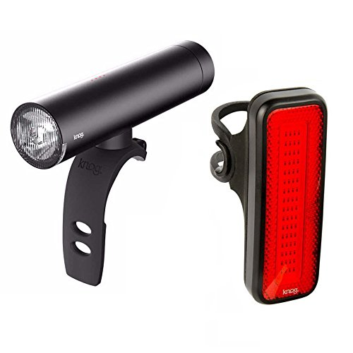 KNOG PWR Rider Bicycle Front Headlight with Built-In Device