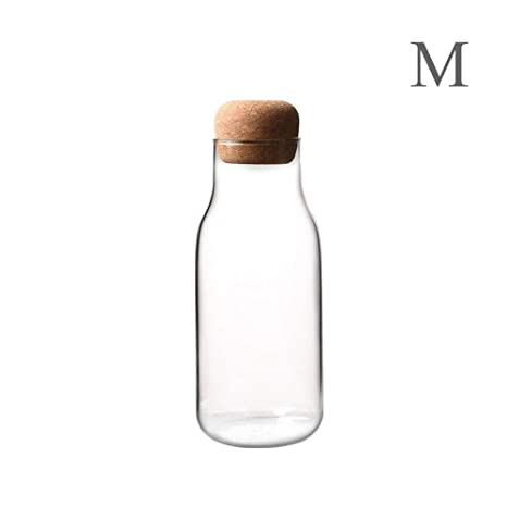 Jinclonder, Botella de Jugo de Leche Resistente al Calor, Botella de ...