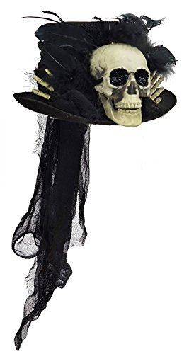 Bethany Lowe Halloween Voodoo Skull Top Hat Skeleton RL4715 - Size Large (Voodoo Accessories)