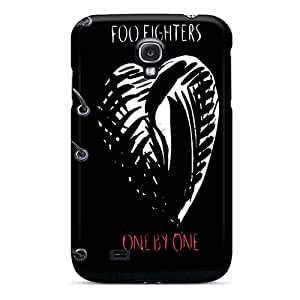 Scratch Protection Hard Cell-phone Case For Samsung Galaxy S4 With Unique Design HD Foo Fighters Pictures SherriFakhry