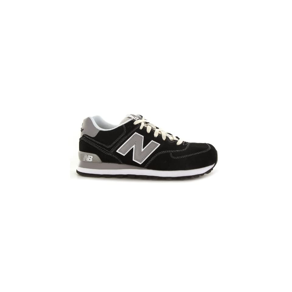New Balance Classic 574 Black Mens Trainers Shoes