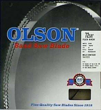 Olson Band Saw Blade Hard Edge 72-5/8