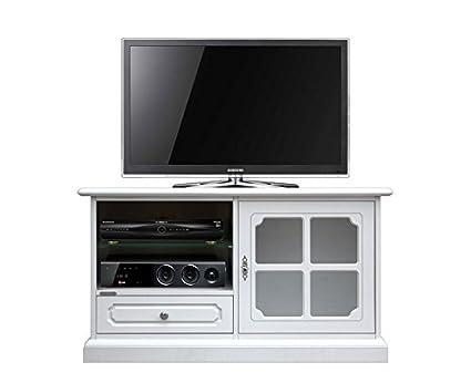 Mobile porta tv bianco stile classico, Porta tv vetrinta per ...