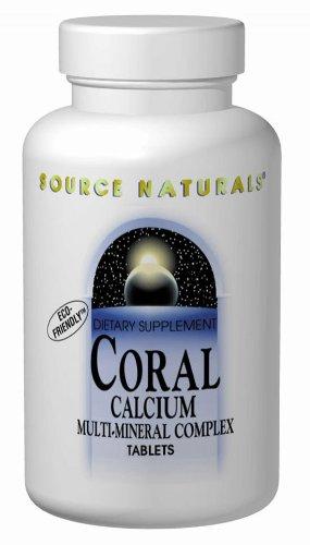 Source Naturals calcium de corail Multi-minéraux, 240 comprimés