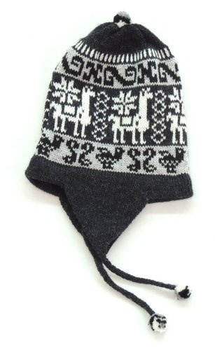 [Reversible Earflap Peruvian Hat (Chullo)] (Ethnic Hats)