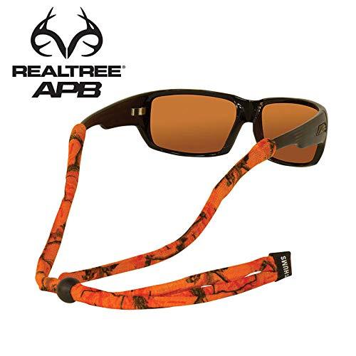 Chums Original LTD Polyester Standard End Eyewear Retainer, Realtree AP Blaze, Standard