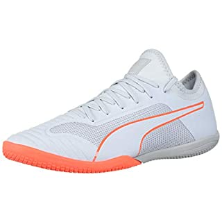 PUMA Men's 365 SALA 1 Sneaker, Grey Dawn-Nrgy Red, 5 M US