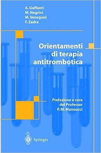 Orientamenti di Terapia Antitrombotica (Italian Edition)