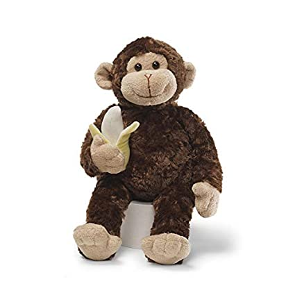 Amazon Com Gund Mambo Monkey Stuffed Animal Plush Brown 14 Toy