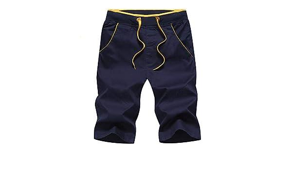 Los Hombres Pantalones Cortos de Ocio de Verano Pantalones ...