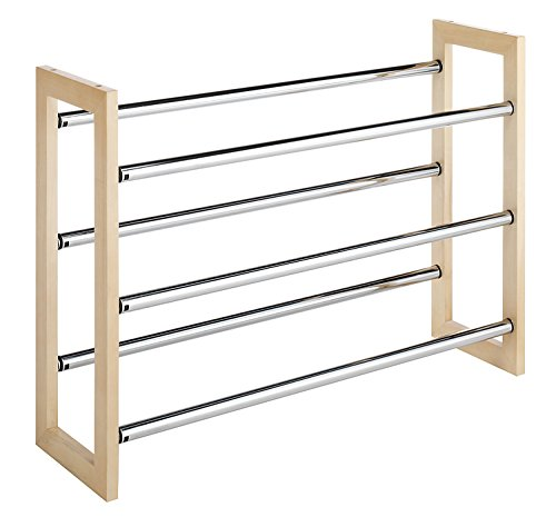 Tier Stackable Shoe Rack - 6