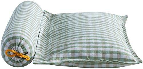 XZDXR Oreiller oreiller coton herbe vertèbre cervicale sarrasin oreiller oreiller carré oreiller rond combinaison oreiller sommeil 10 * 30 * 40 cm