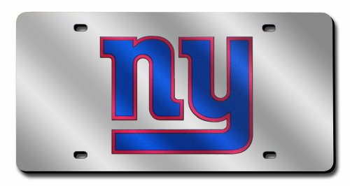 NFL New York Giants Laser Tag (Silver Logo) - New York Giants Jewelry