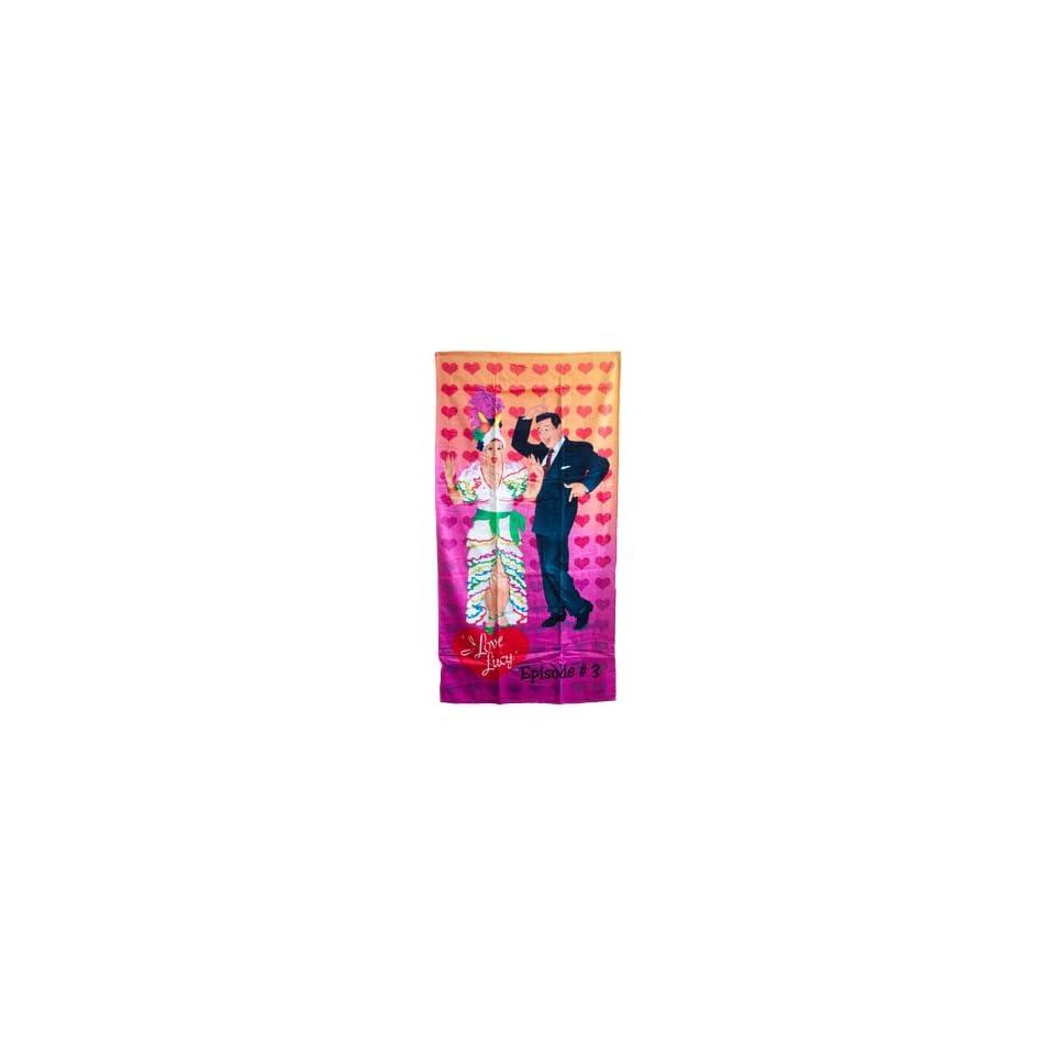 I Love Lucy Lucille Ball & Desi Arnaz Beach towel