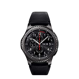 Samsung Gear S3 Frontier Smartwatch& Gear S3 Frontier Band XL/Large,Oitom Premium Solid Stainless Steel Watch Bands Link Bracelet Strap for Samsung Gear S3 Classic Gear S3 Frontier Galaxy Watch Black