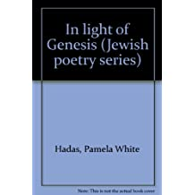 In light of Genesis (Jewish poetry series)