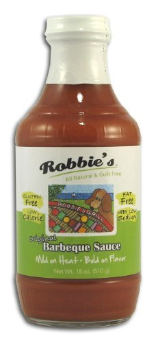Robbies Robb Barbeque Sauce Mild 18 oz (Pack Of 6) (Sauce Barbeque Mild)