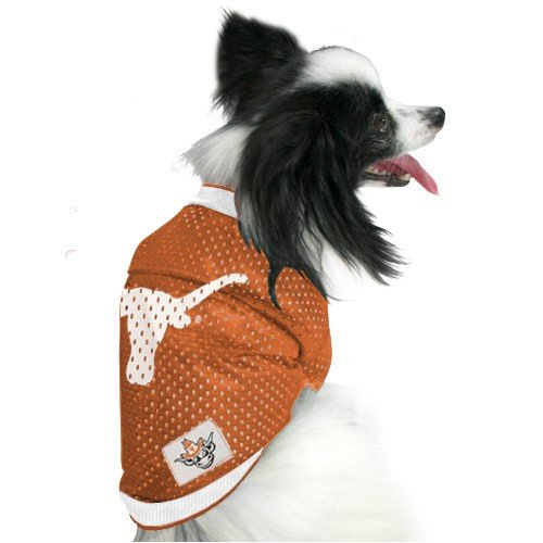 Pets First TLJ-S Texas Longhorns Jersey Small