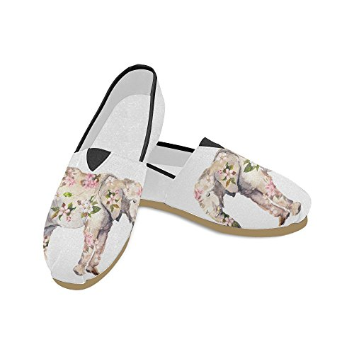 Interestprint Elefant Loafers Casual Sko For Menn Kvinner Elefant 3