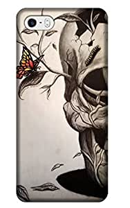 LKPOP Skull Cases / Covers Lovely Design Different From Other Special Hard Back Cover Cell Phone Case For iPhone 5/5S Style 10