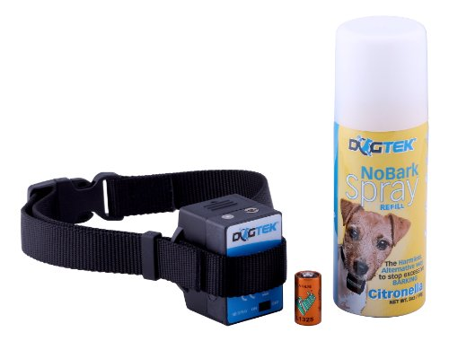 DOGTEK No Bark Citronella Spray for - Spray Bark Collar Small Dog