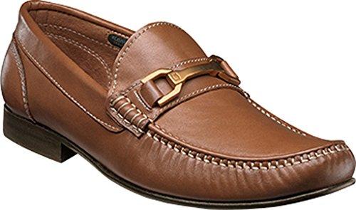 Cognac Full Leather Slip Grain Penny on Florsheim Bit Men's Boca Loafer qTS70T