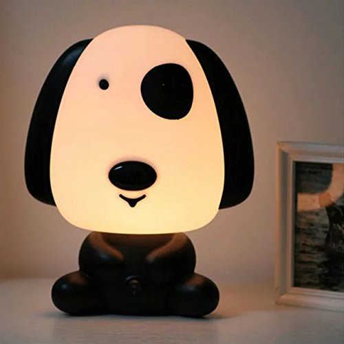Lovely Baby Kids Children Bedroom Night Sleeping Light Bear Dog Rabbit Panda Cartoon Animal Lamp Best For Boys Girls Gifts EU Plug AC220V