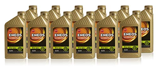 Fully Oil Gear Synthetic (ENEOS 5W-20 Fully Synthetic Motor Oil, 1 Quart (Pack of 12))