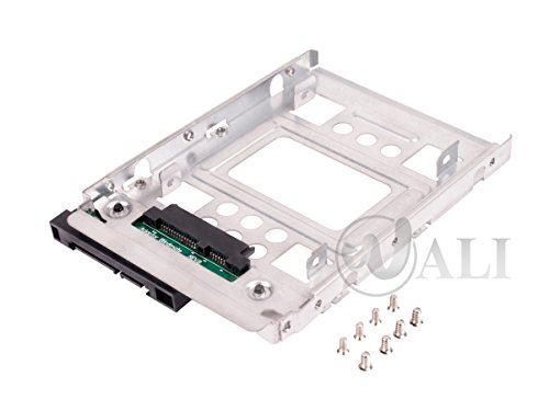 "WALI 2T3 SSD To 3.5"" Sata Hard Disk Drive HDD Adapter Caddy Tray Cage Hot Swap Plug Converter Bracket Compatible with All The 3.5"" SAS/SATA Drive Caddie Trays for HP Dell IBM Lenovo"