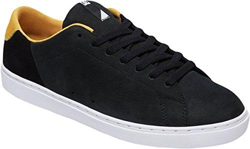 Dc Mens Repriser Se Skate Chaussure Noir / Jaune