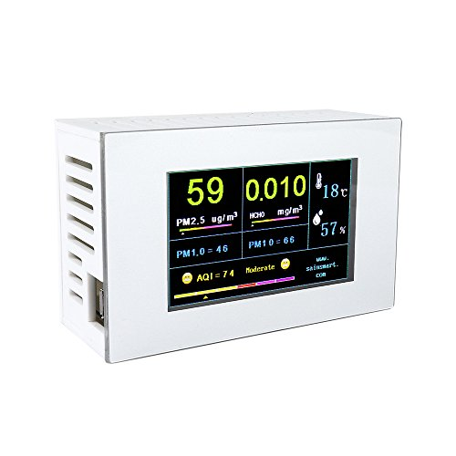SainSmart PM-P6 Indoor and Outdoor Air Quality Monitor – ...