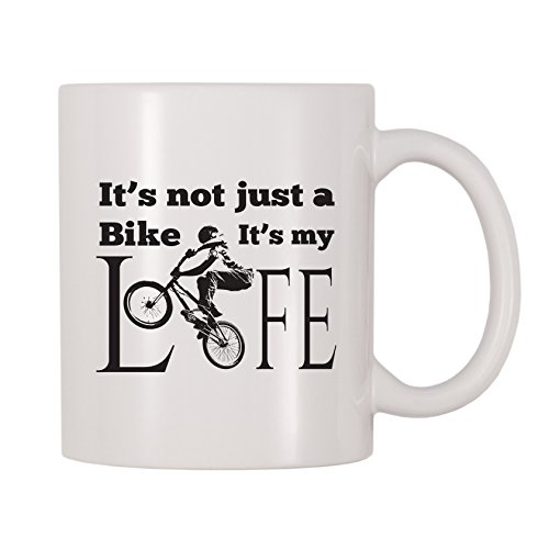 4 All Times It's Not Just A Bike It's My Life Mug (11 oz)
