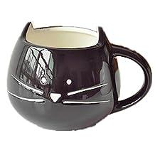 New Lovely Cute Little Black Cat Coffee Milk Ceramic Mug Cup Christmas Birthday Best Gift