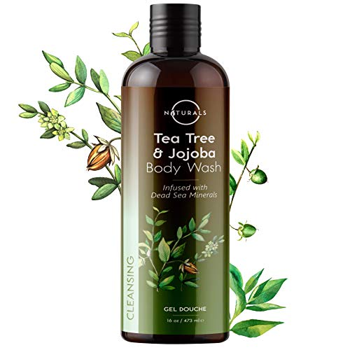 O Naturals Antifungal Deep Cleansing Tea Tree Essential Oil Body Wash. Fights Body Odor. Treats Feet, Nails, Athletes Foot, Ringworm, Jock Itch, Eczema. Soothes Itching. Promotes Healthy Skin. 16 Oz