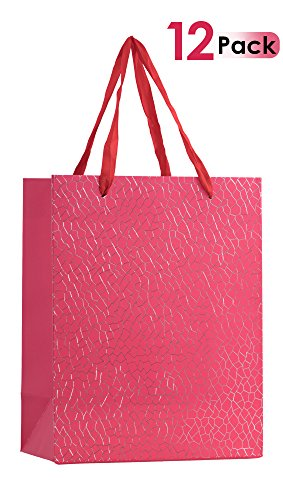 Premium Gift Bags Set With Ribbon Durable Handles For Men & Women -Sturdy & Beautiful Present Bags For Birthday, Christmas & Holiday Gifts, Eye Catching Design 9