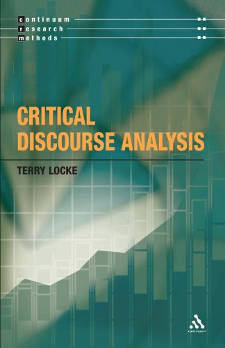 Critical Discourse Analysis (Continuum Research Methods)