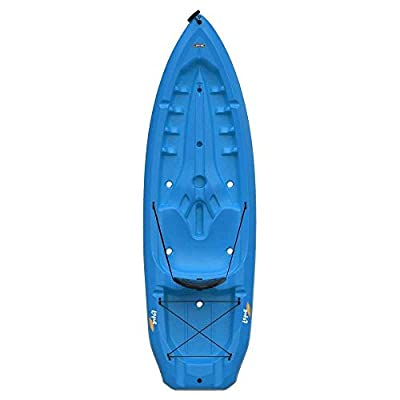 90112 Lifetime Lotus Sit-On-Top Kayak with Paddle, Blue, 8' by Lifetime OUTDOORS