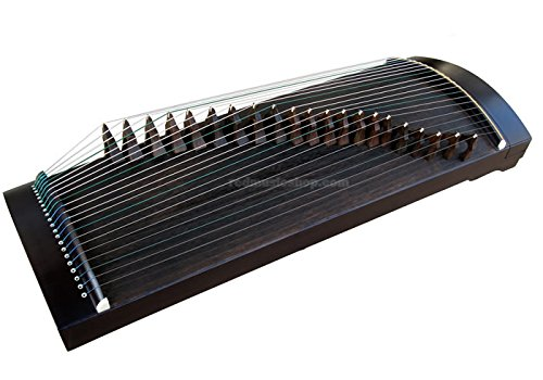 Music Chinese Instrument (Travel Size Guzheng, Chinese 21-string Zither, E1157)